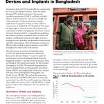 Discontinuation of Contraceptive Intrauterine Devices and Implants in Bangladesh